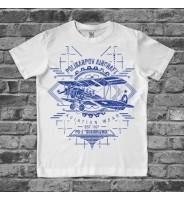 футболка с самолетом детская