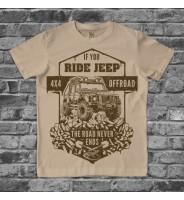 """Детская футболка """"Джип"""""""
