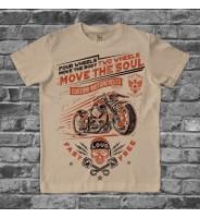 Детская футболка с мотоциклом