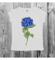 """Детская футболка """"Гортензия"""""""