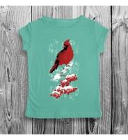 футболка кардинал детская