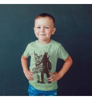 Детская футболка с индейцем