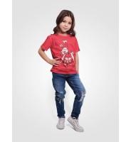 """Детская футболка """"Зайка в цветах"""""""
