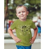 """Детская футболка """"Кот-викинг"""""""