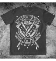 "Темно-серая футболка ""Топоры"""