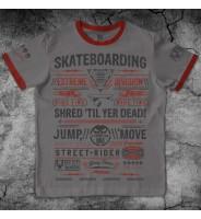 "Темно-серая футболка ""Скейт"""