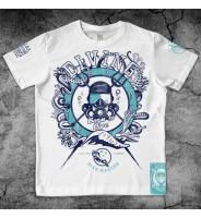 Белая футболка Дайверская