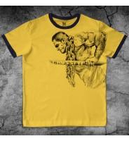Желтая футболка для кроссфита