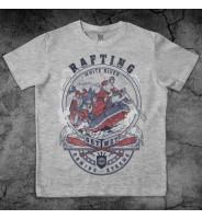 """Серая футболка """"Рафтинг"""""""