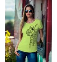 "Светло-зеленая футболка ""Crossfit Girl"""