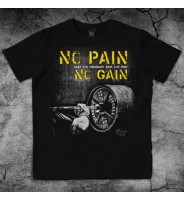 Футболка Пауэрлифтинг No Pain No Gain
