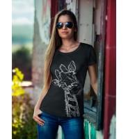 """Женская футболка """"Жираф"""""""