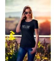 "Женская футболка ""Peace&Chic"""